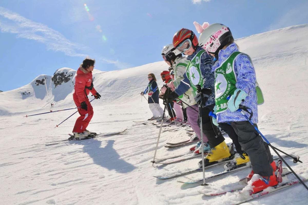 детей на лыжи